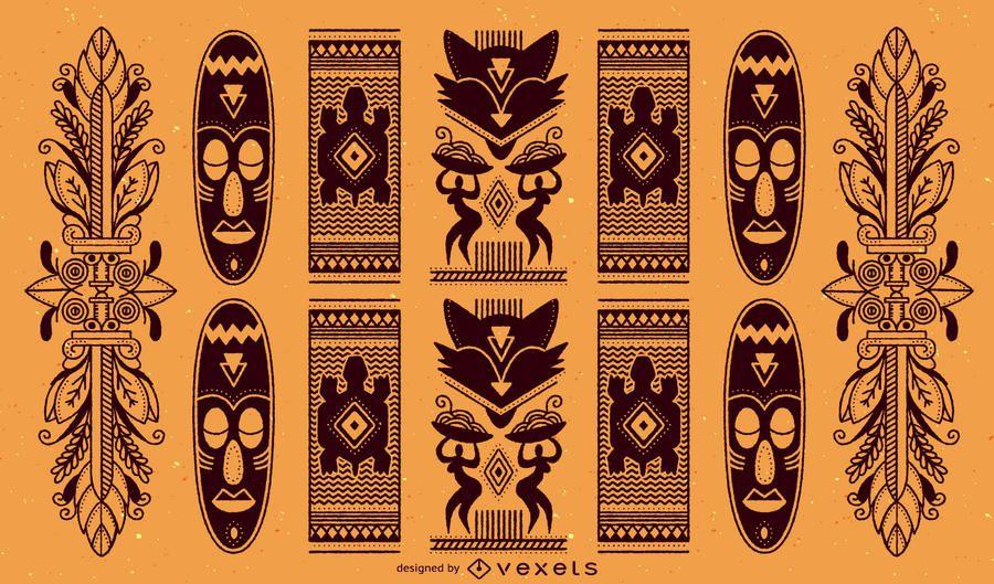 Padrão Africano Tradicional