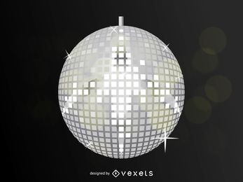 Bola de discoteca vector