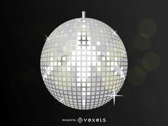 Vector de bola de discoteca