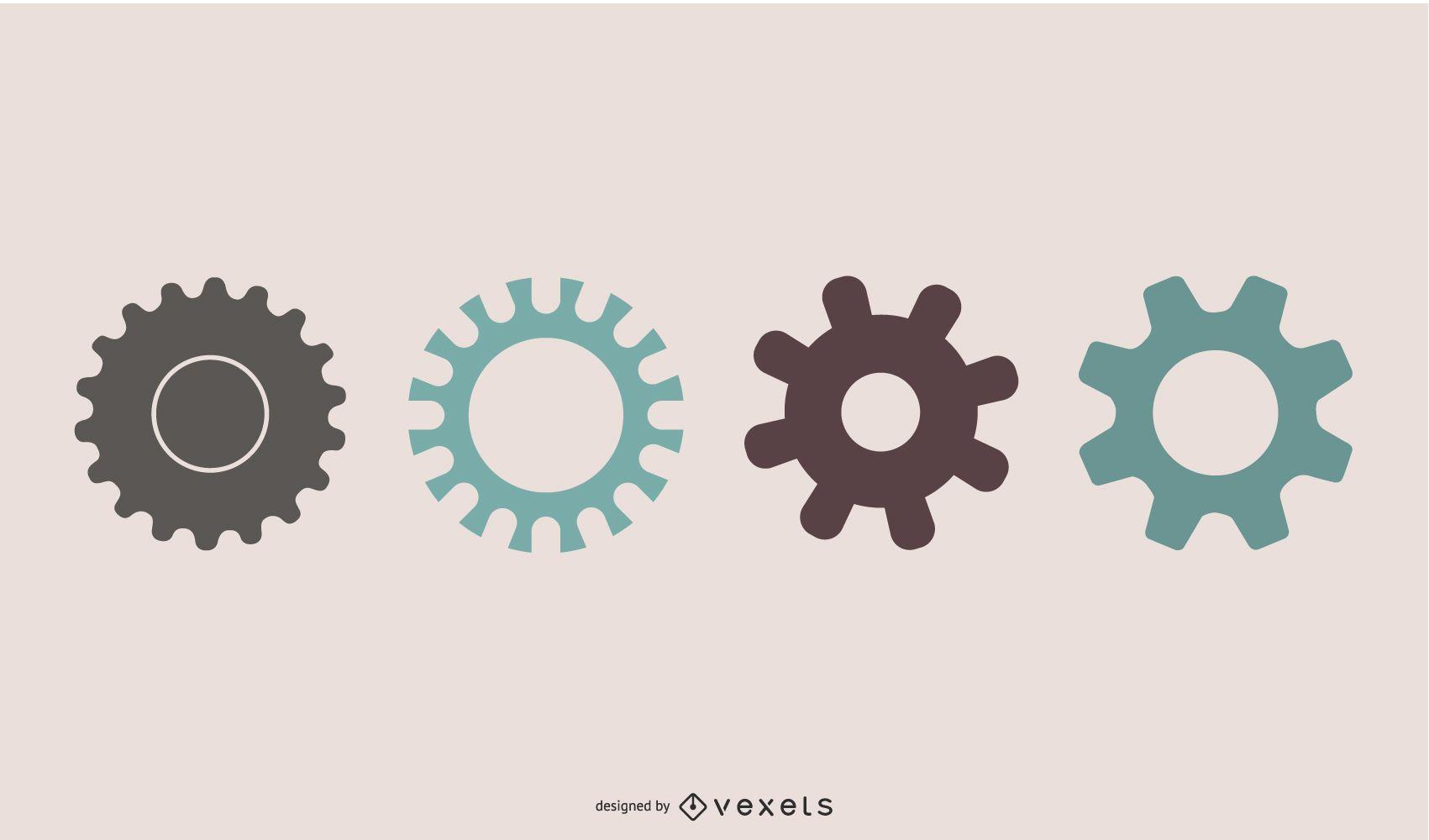 Vector de engranajes
