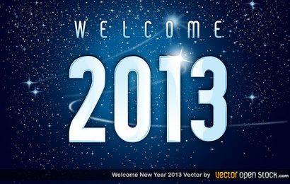 Bienvenido 2013 año nuevo