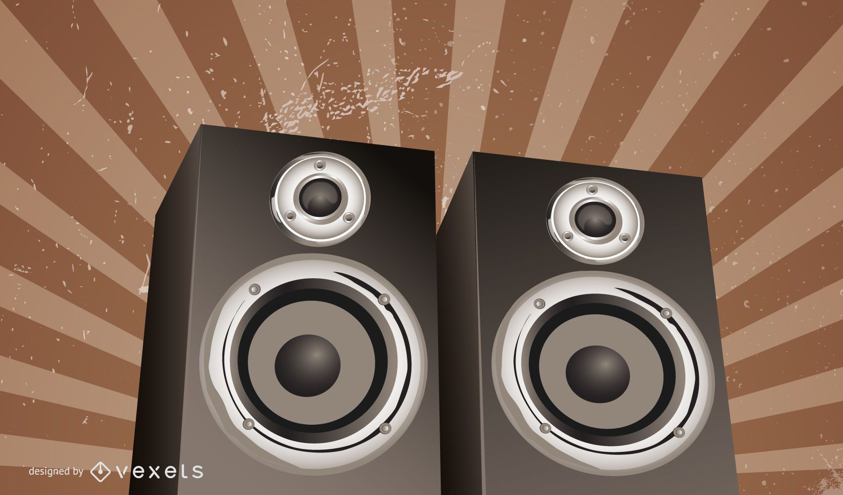 Grungy Stereo Design