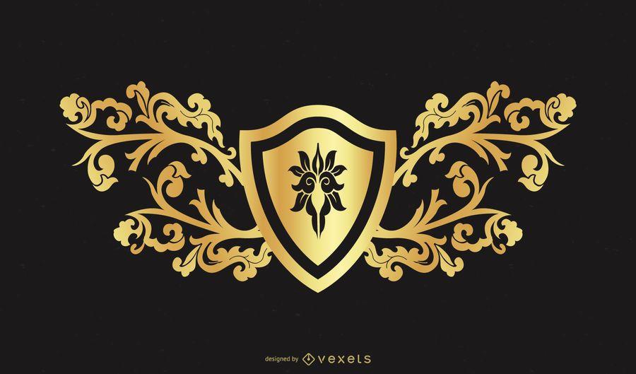 Golden Design Element 2