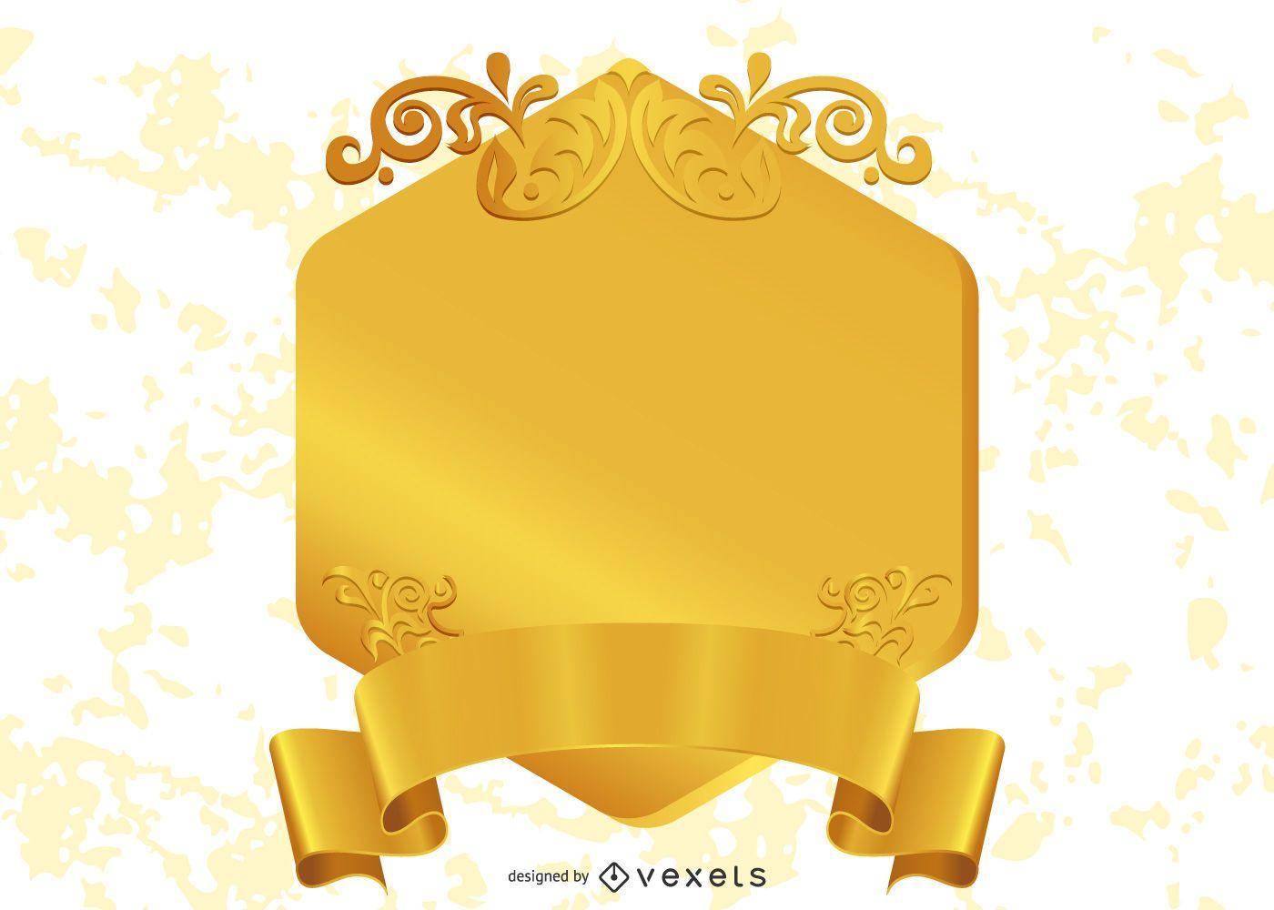 Golden Design Element 3