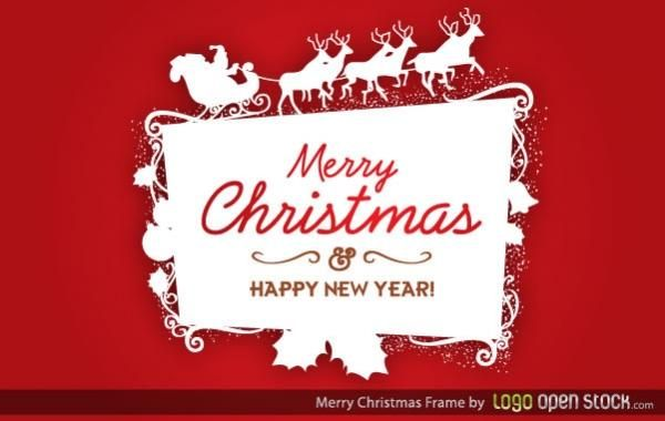Christmas Logo Frame