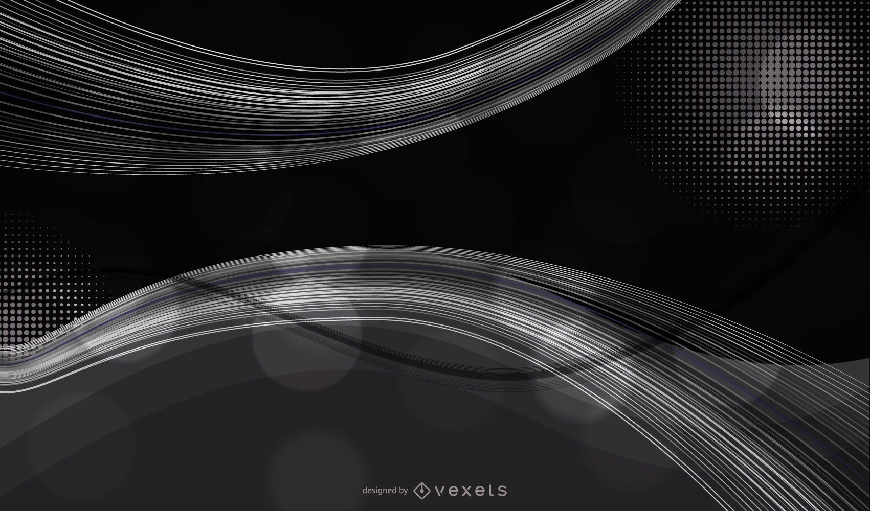 Forma de estilo oscuro Forma 2