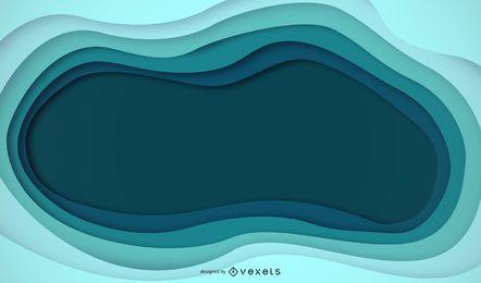 Auszug farbiger Ausschnitt-Vektor-Hintergrund