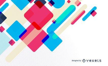 Fondo de diseño abstracto colorido