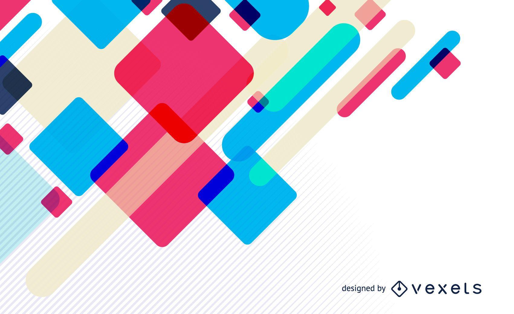 Fondo colorido dise?o abstracto