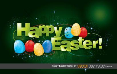 Feliz Páscoa Vector