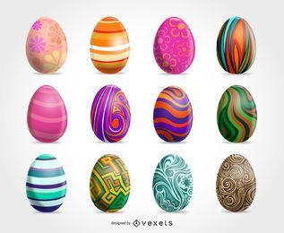 Ovos de Páscoa clip art