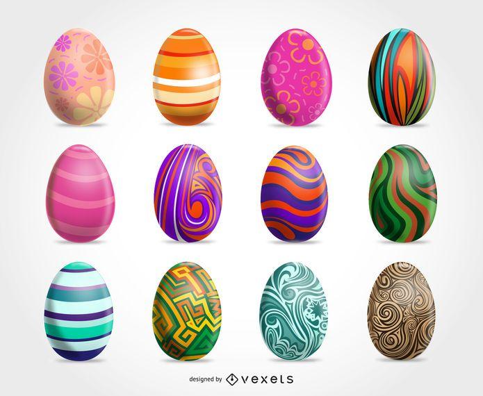 Easter Clip art Eggs
