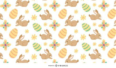 Patrón de tema de Pascua