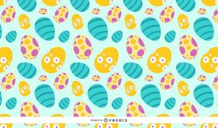 Ovos de Páscoa da Primavera