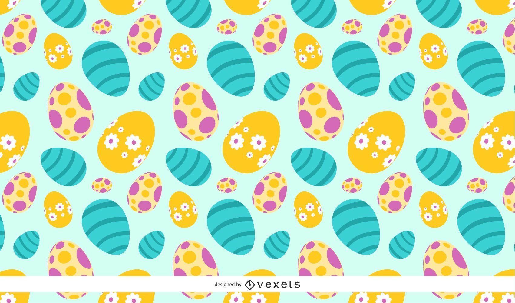 Huevos de Pascua de primavera