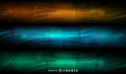 Abstract Banner Hintergrund