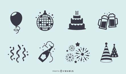 Iconos de fiesta
