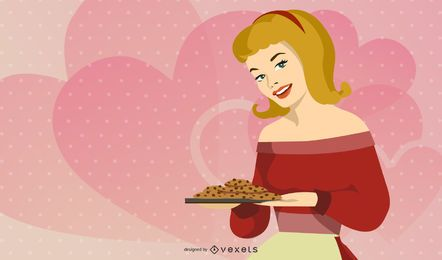 Fifties Housewife Vectors