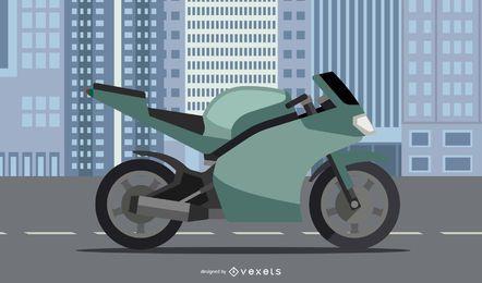 Ducati Diavel-Motorrad-Vektor