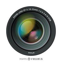 Lentes de câmera ultra-realistas