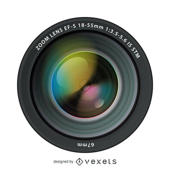 Lentes de cámara ultra realistas