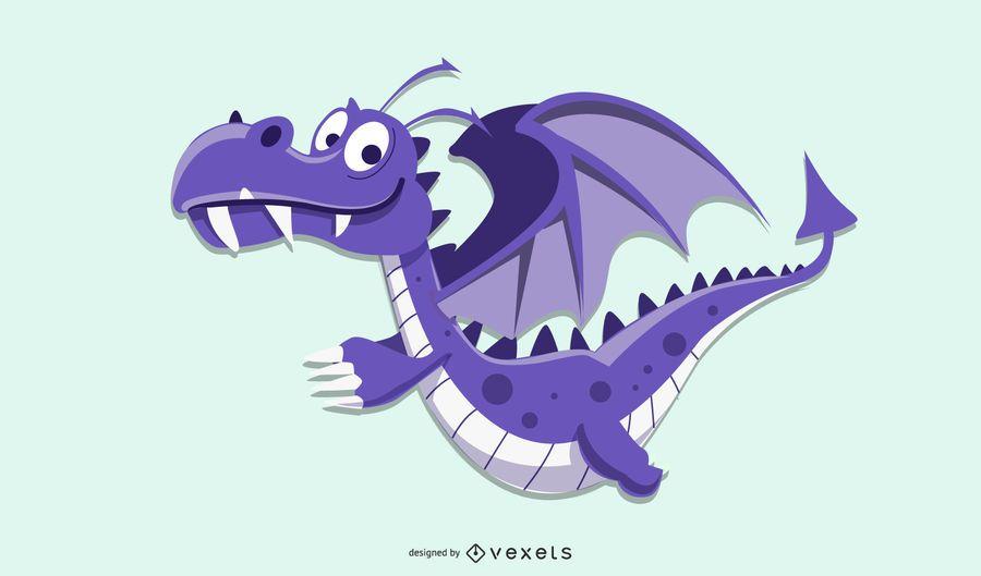 Ilustração de dragão