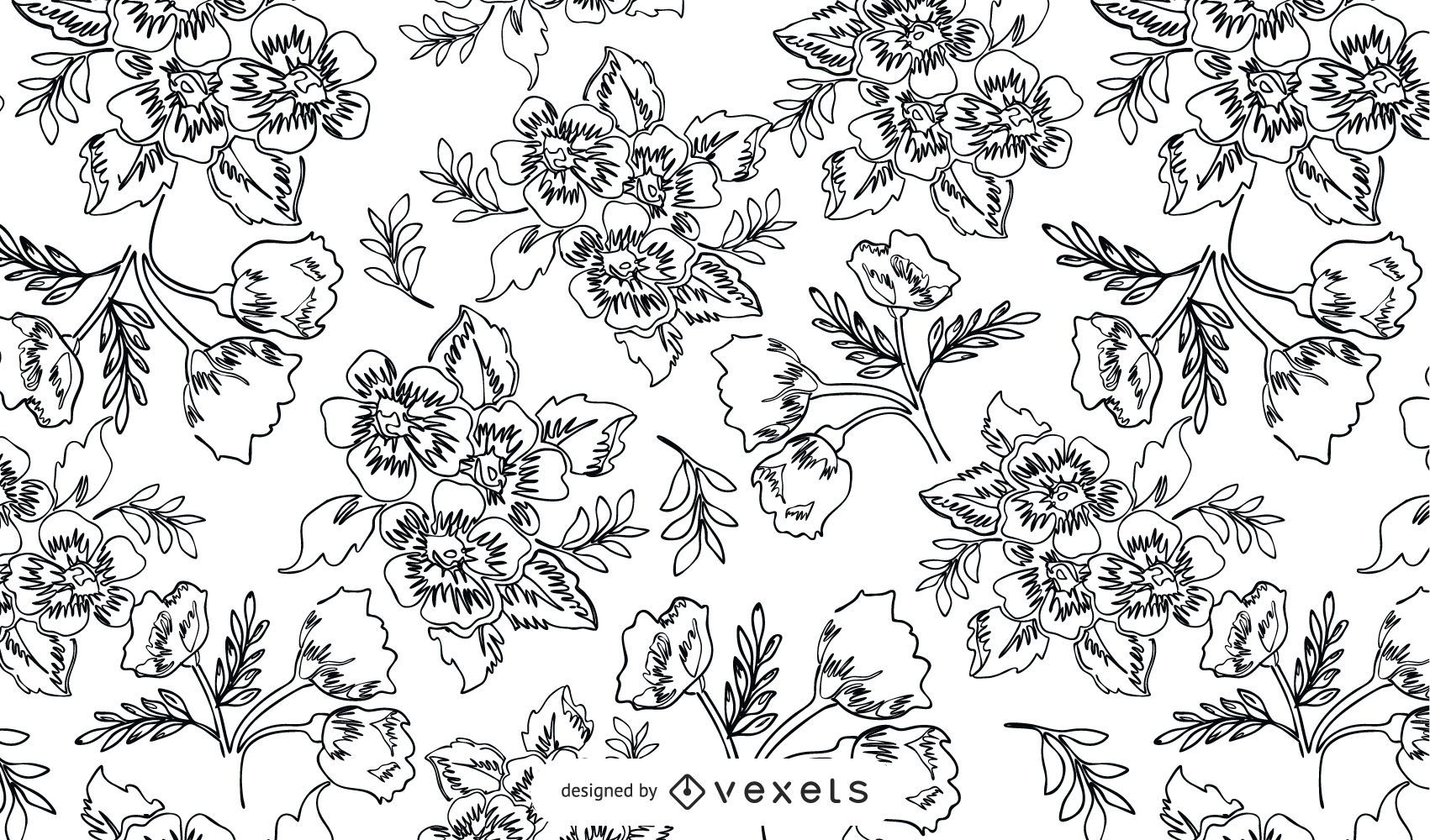 11 Old Plant Engravings Vector Patterns