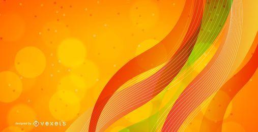 Vektor abstrakte Welle Hintergrund