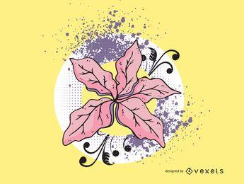 Flor vector illustration