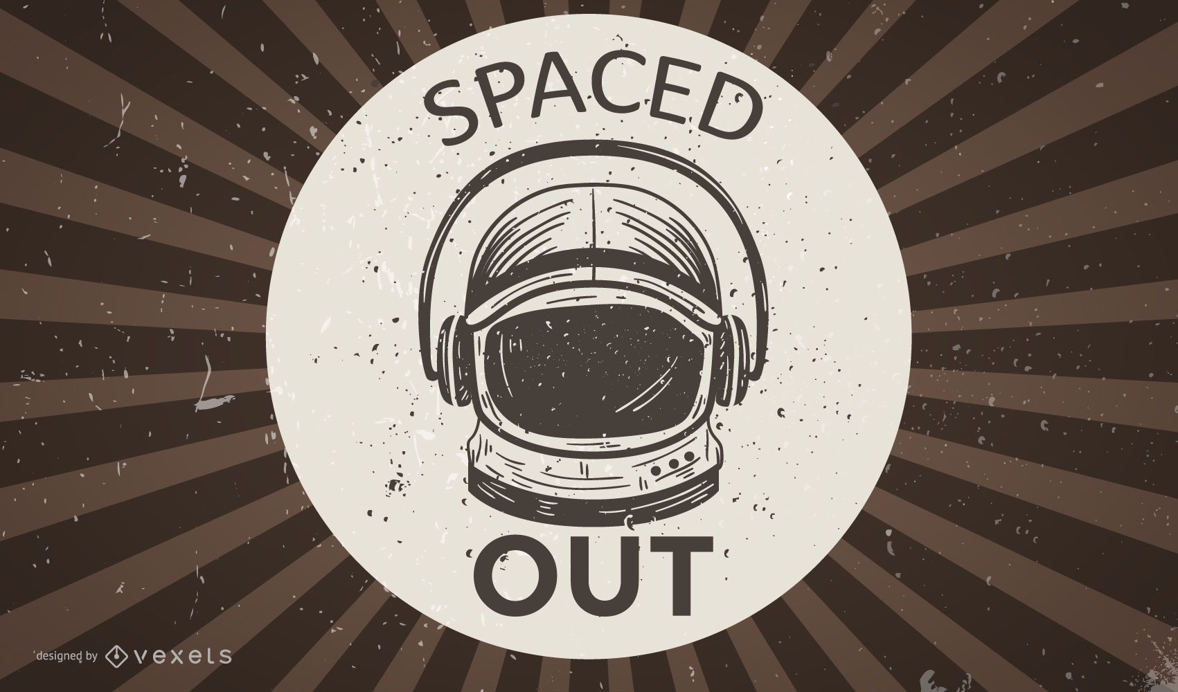 Spaced Out Illustration