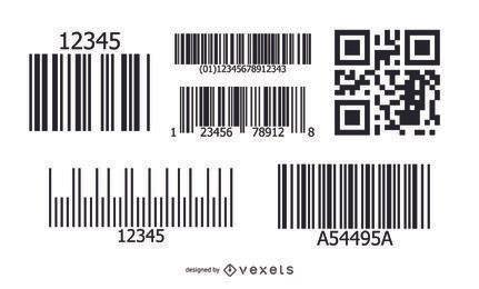 Vetores de código de barras