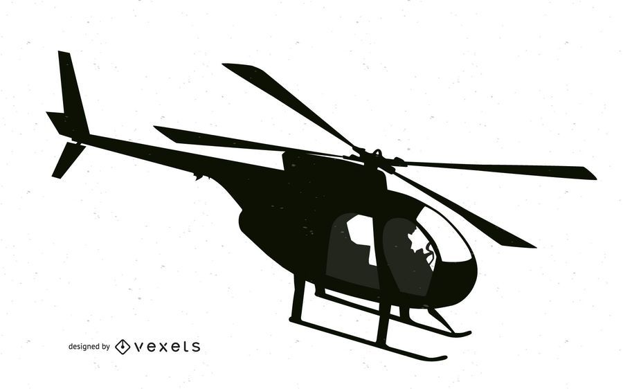 Vector libre de helicóptero