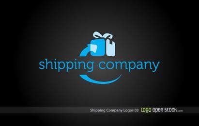 Logotipo de la compañía de envío 03