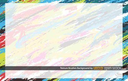 Fondo de pinceles de textura