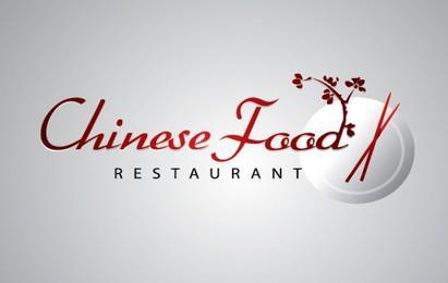 Chinesisches Lebensmittel Restaurant Logo