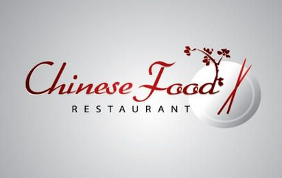 Logotipo de restaurante de comida china