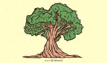 Árbol de naturaleza torcida