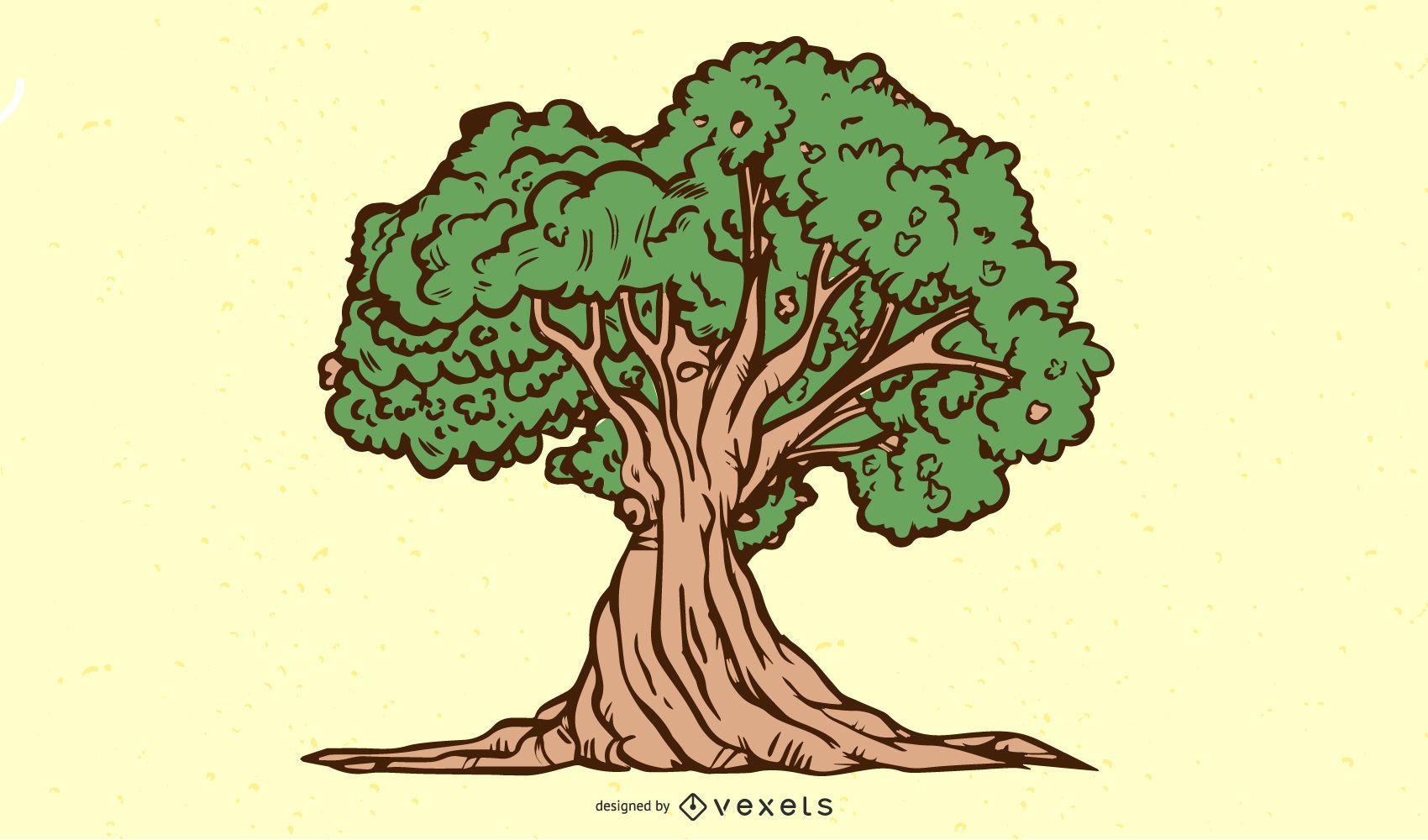 Twisted Nature Tree