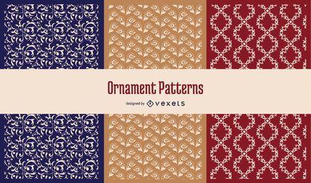 Nahtlose Ornamente Muster