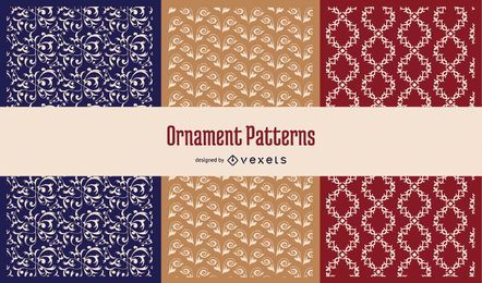 Seamless Ornaments Pattern