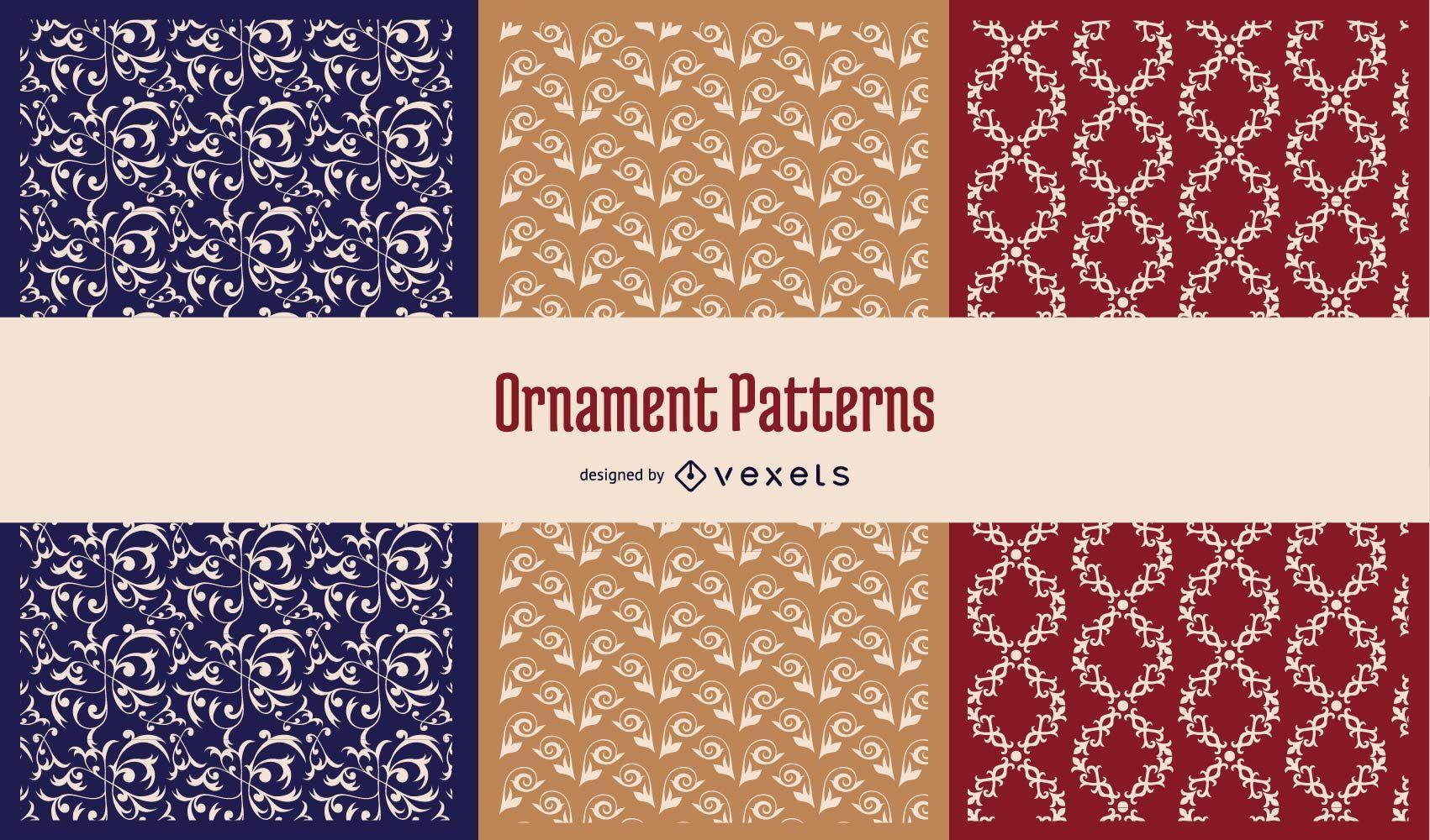 Seamless Ornaments Pattern