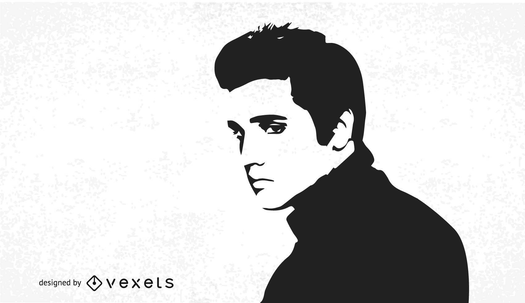 Vector libre de Elvis Presley