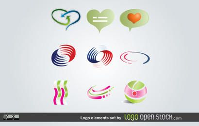 Logo Elements Set