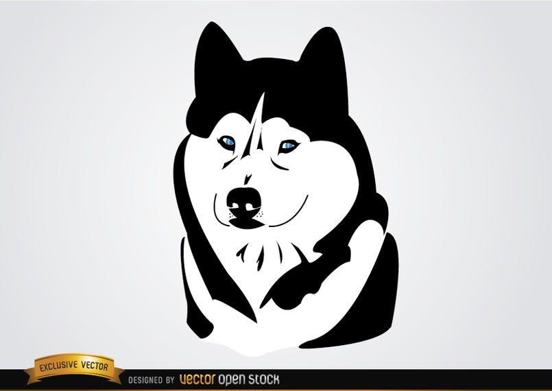 Husky Sibirischer Hund