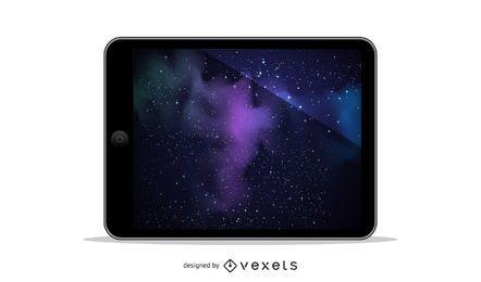Ilustración de vector de iPad