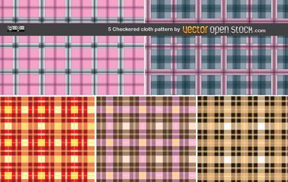 5 patrón de tela a cuadros