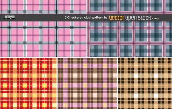 5 Checkered cloth pattern