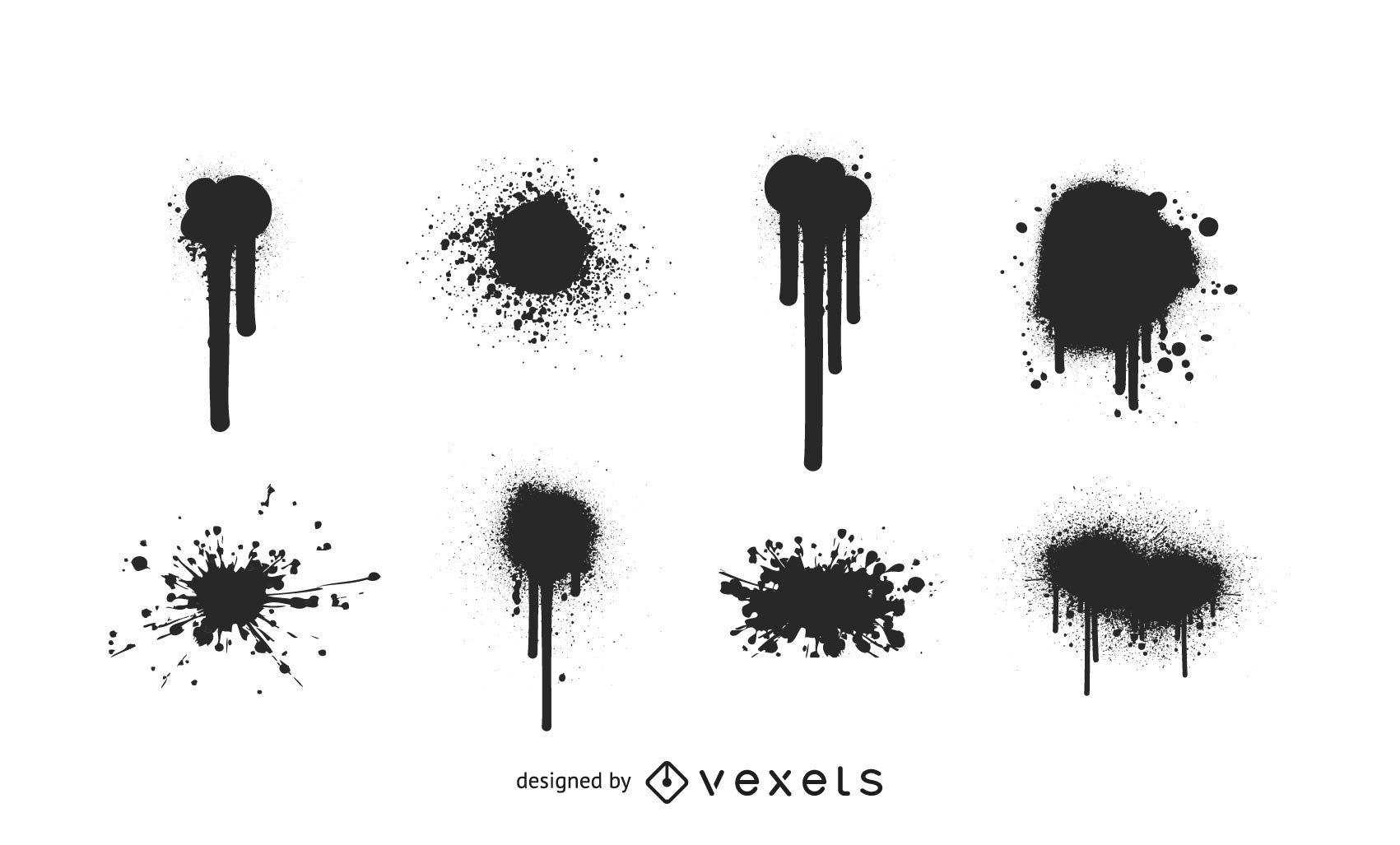 Vector Splatters