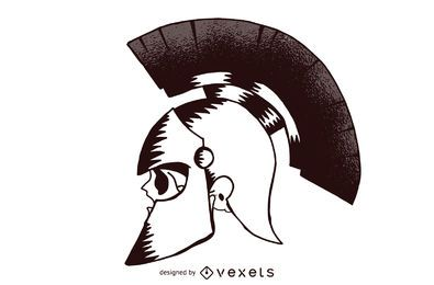 Cráneo de soldado romano