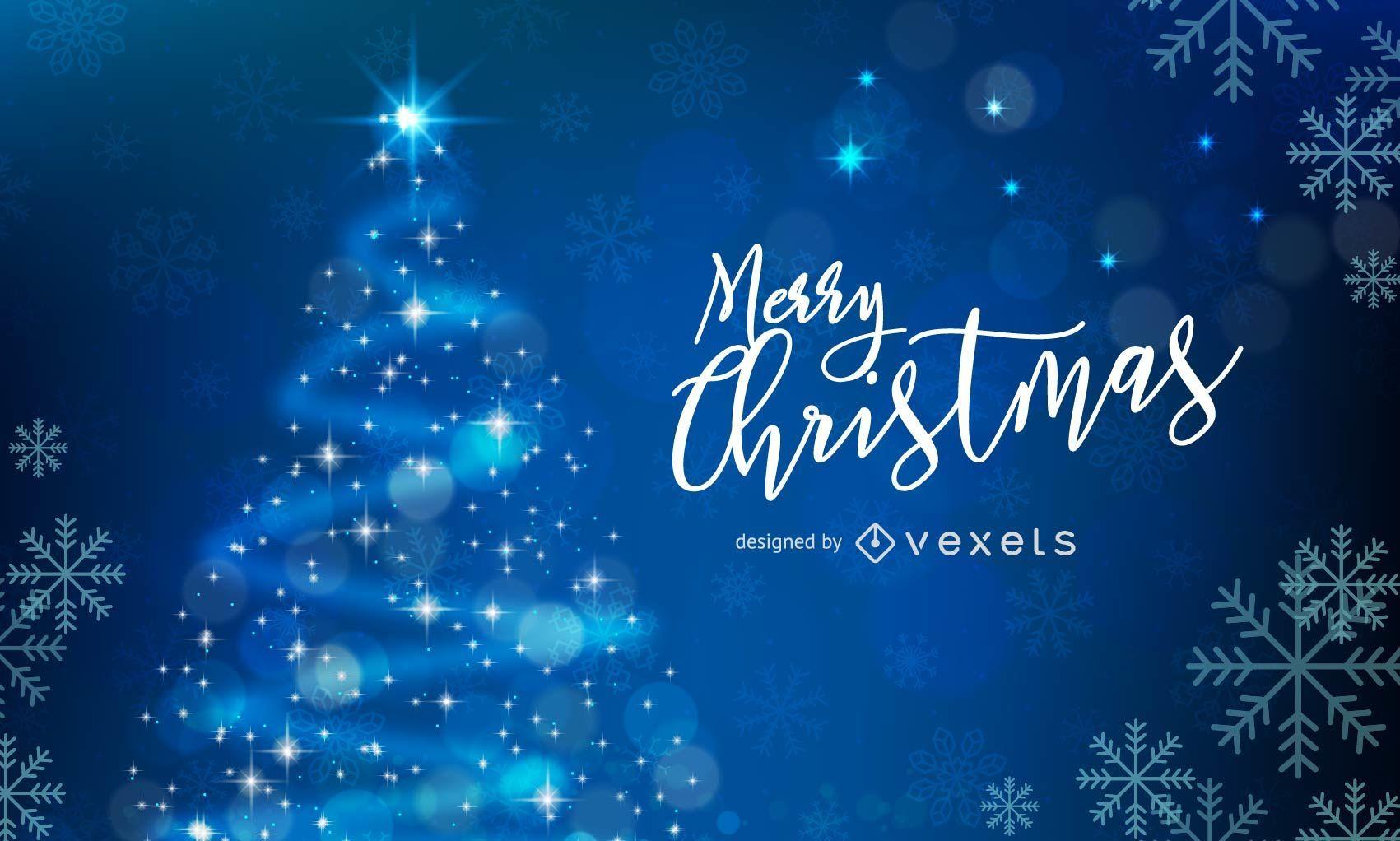 Weihnachten Wallpaper.Frohe Weihnachten Wallpaper Vektor Download